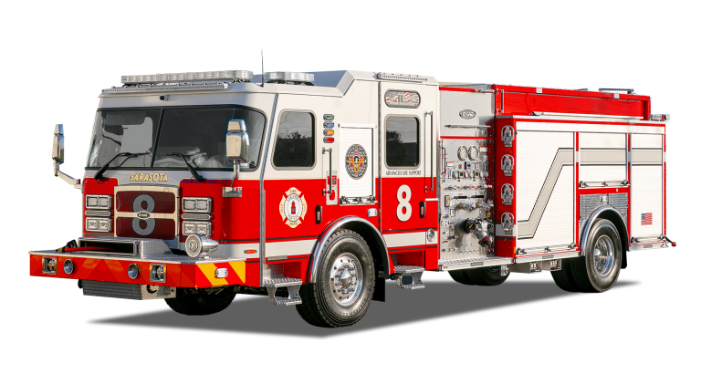 E-ONE Cyclone Pumper for Sarasota County Fire Department