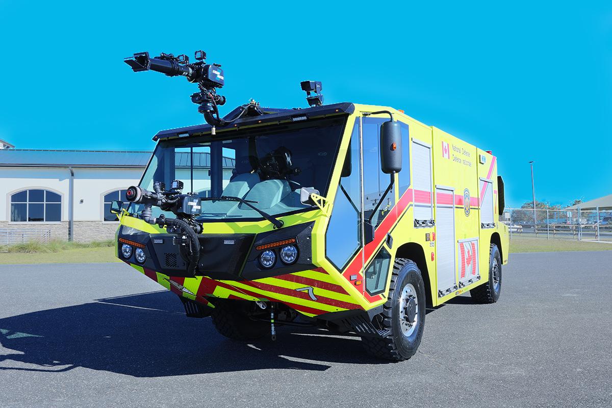E-ONE TITAN 4x4 ARFF Air Transportable