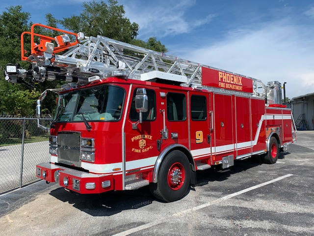 E-ONE HR 100 for Phoenix Fire Department